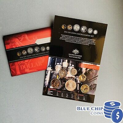 2004 RAM Uncirculated UNC 6 Coin Baby Mint Set