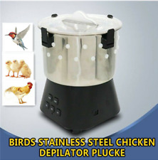 Small Poultry Plucker Chicken Birds Depilator Dove Feather Plucking Machine