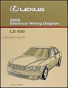 2000 lexus ls 400 wiring diagram manual original ls400 electrical image is loading 2000 lexus ls 400 wiring diagram manual original