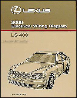 2000    Lexus       LS 400    Wiring    Diagram    Manual Original    LS400       Electrical    Schematics OEM   eBay