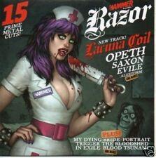 (500L) Metal Hammer magazine, Razor 191 - DJ CD