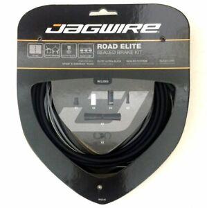 Stealth Black Road//MTB AE1 gobike88 Jagwire SCK000 2X Elite Sealed Shift Kit
