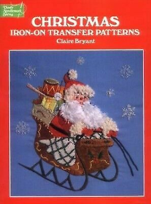 CHRISTMAS IRON-ON TRANSFER PATTERNS By Claire Bryant **BRAND NEW**
