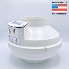 New Festa Amg Legend Radon Mitigation Fan Highest Durability 6 Inchgerman Motor