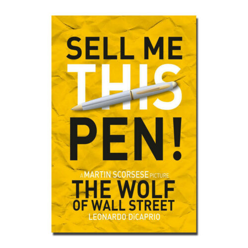 The Wolf of Wall Street Movie Silk Poster Wall Art Print 12x18 20x30 inch
