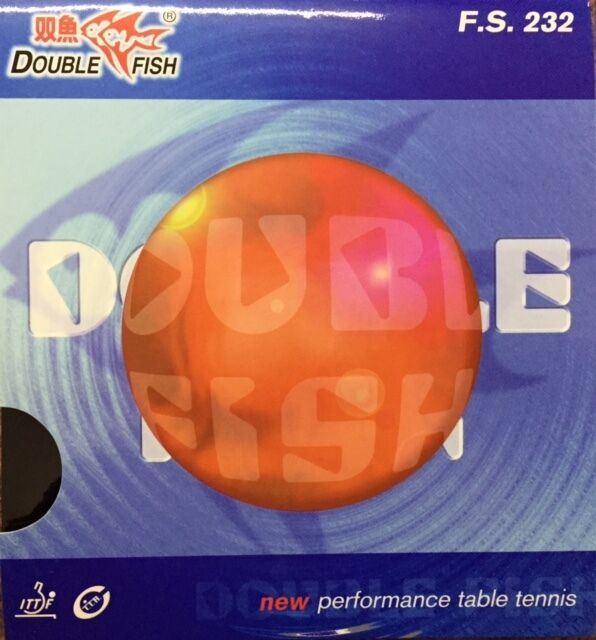Double fish f.s. 232 table table 232 tennis rubber 892234