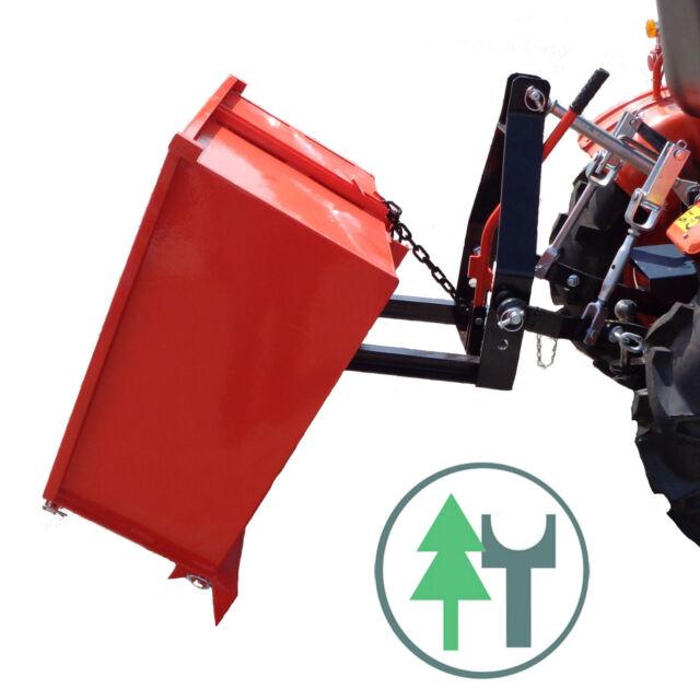 Traktormulde TM100F 100cm Transportcontainer Transportbehälter Rückwärtskipper