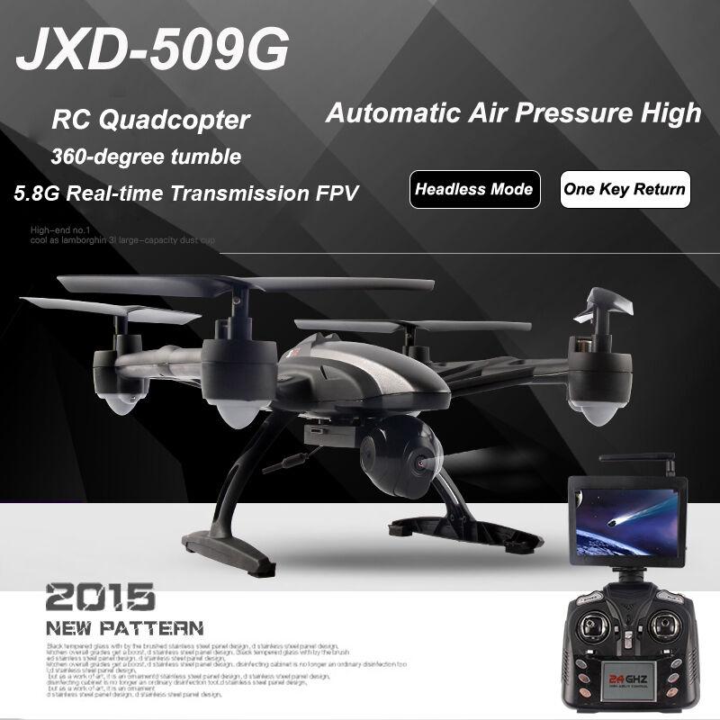 Cámara JXD 6-Axis Gyro RC Drone Quadcopter RTF Con FPV HD