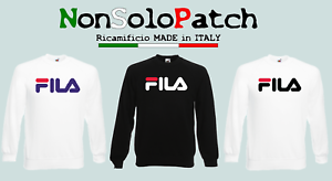 FELPA-FILA-NERA-BIANCA-LEGGERA-PRIMAVERA-ESTATE-UOMO-DONNA-FRUIT-OF-THE-LOOM