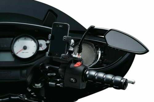 Black 82-11 H//D MODELS WITH DUAL CABLE THROTTLE CONTROL Kuryakyn ISO Grips