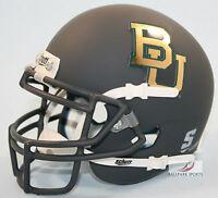 BAYLOR BEARS (MATTE GRAY) Schutt XP Mini Helmet