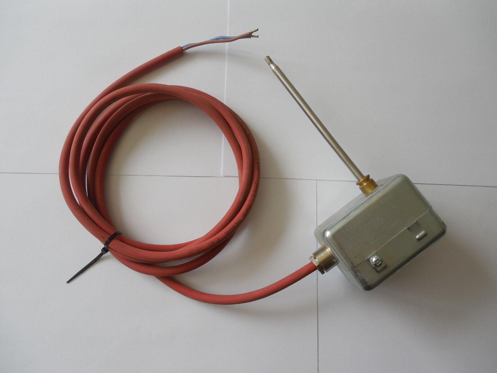 2 x Wodtke 095140 (Cetrotec Rauchgasthermostat Typ 519-6984); Schaltpunkt 50°