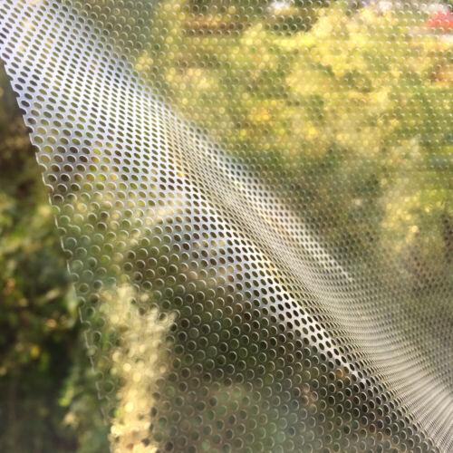 One Way Vision Folie Lochfolie für Digitaldruck Sichtschutzfolie Transparent 127