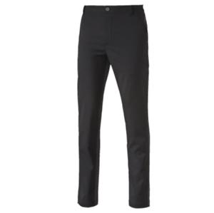 5876eb07c339 Image is loading Puma-Tailored-Elevation-Golf-Pants-Black-Periscope-Grey-