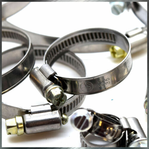 Stainless Steel Hose Clamps High Quality Pipe Tube Clips Wide Range All Sizes