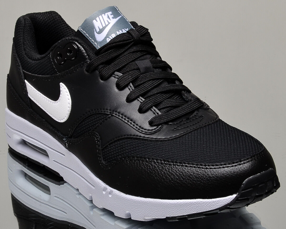 Nike WMNS Air Max 1 Ultra Essentials women lifestyle casual sneakers black white