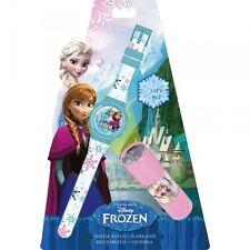 Montre enfant La Reine des Neiges, Montre digitale Frozen avec lampe de poche