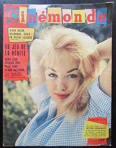 Cinema-Demongeot-Loren-Vallone-Laforet-Hepburn-Ekberg-Kodak-N-1347-di-1960