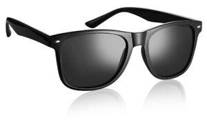 Black Komonee Sunglasses Topgun Pilot Retro 80s Fashion Glasses Mens Ladies Geek