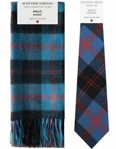 Begeistert Angus Ancient Tartan Lambswool Scarf & Tie Gift Set