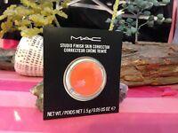 Mac Studio Finish Skin Corrector Pure Orange Contour In Box Authentic