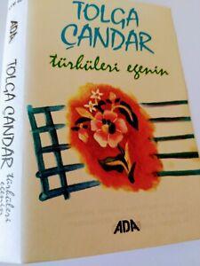 Tolga Candar Cassette tape ADA Records 1986 AYM 605 ULTRA RARE TURKEY INTEREST