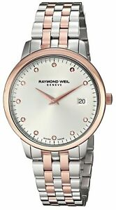 Raymond Weil Geneve Toccata Quartz Two-tone Stainless Steel Watch 5388-SP5-C6581