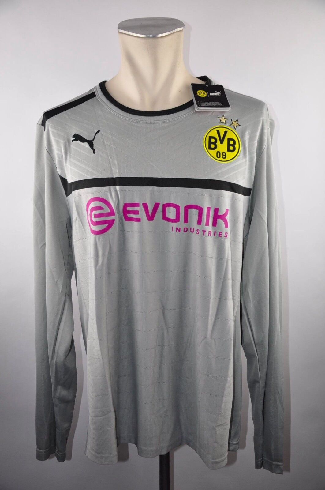Borussia Dortmund BVB BVB BVB Trikot Gr. XXXL Puma Training Jersey Evonik Pullover 3XL  | Komfort  b85931