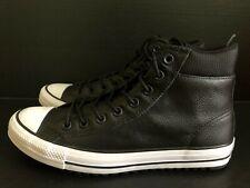 0935416e2f46 Converse CTAS PC Boot HI Mens Sz 8  Wmns 10.5 Black Chuck Taylor Leather  162415C