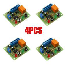 4x Dc 12v Timer Relay Control Switch Diy Kit 100s Delay Electronic Welding Parts