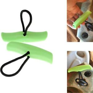 2X Nylon Universal Kayak Canoe Front Rear Mount Boat Pull Handle Carry Handle ZY