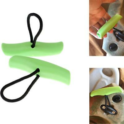 2x Kayak Boat Marine Toggle Handle Replacement Cord Rope Accessory Pad Eye