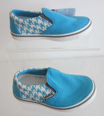 Toddler//Infant ~ Ultraviolet//Black Crocs Hover Metallic Skimmer Slip-on Shoes