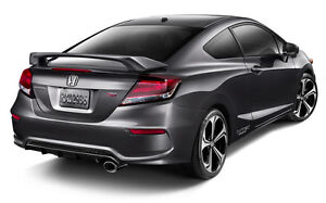 PRIMED REAR TRUNK SPOILER Fits A 2012-2015 HONDA CIVIC 2-Door Coupe