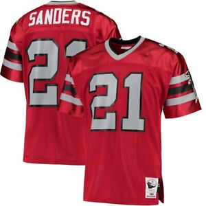 finest selection d81b2 442a9 Details about Mitchell & Ness Deion Sanders Atlanta Falcons NFL Football  Vintage Jersey XL