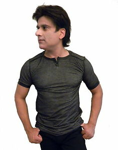 Mission-Clothing-Crew-Neck-Henley-with-Faux-Leather-Trim-Stage-Shirt