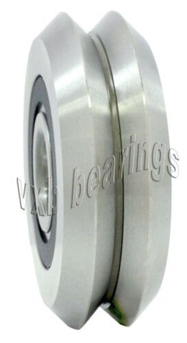 2 pcs W2X RM2-2RS RM2ZZ V Groove Sealed Ball Bearing 9.525mm x 30.73mm x 11.1mm