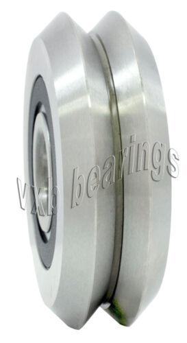 2 pcs W2X RM2-2RS RM2ZZ V Groove Sealed Ball Bearing 9.525mm x 30.73mm x 11.1mm