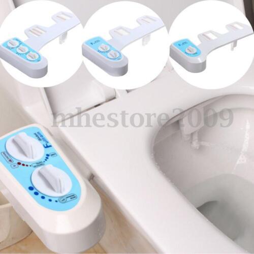 Nozzle Hot Cold Water Sprayer Non-Electric Bathroom Bidet Toilet Seat