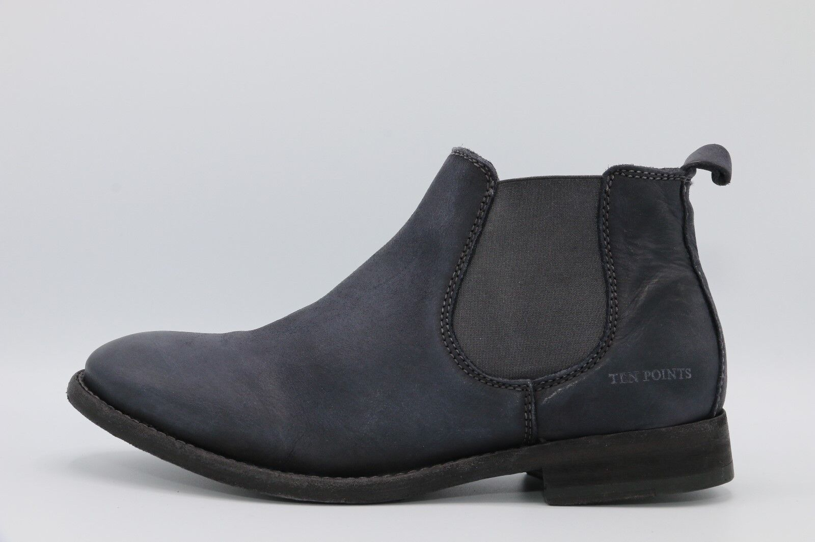TEN points Magic 101 NERO 369032-Uomo-Boots-Nero - Pelle Pelle Pelle ... b9c2153f7e3