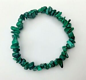 Malachite-Crystal-Chip-Bracelet-Reiki-Charged