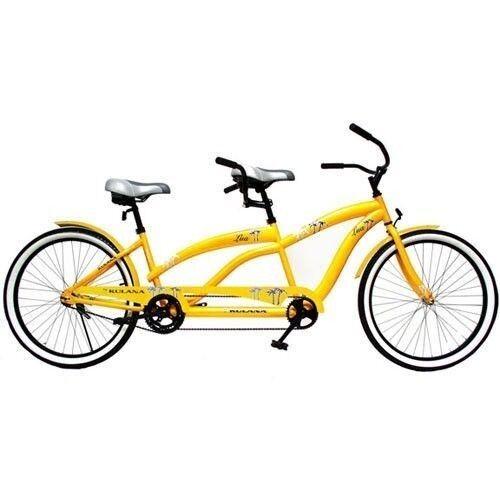 "Kulana Lua 26"" Tandem Comfort Cruiser Bike Bicycle Steel Frame Cruiser New"