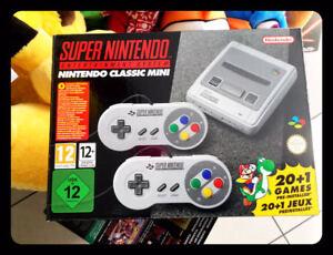 console snes nintendo classic mini super nes 21 giochi included brand new sealed 45496343361 ebay. Black Bedroom Furniture Sets. Home Design Ideas
