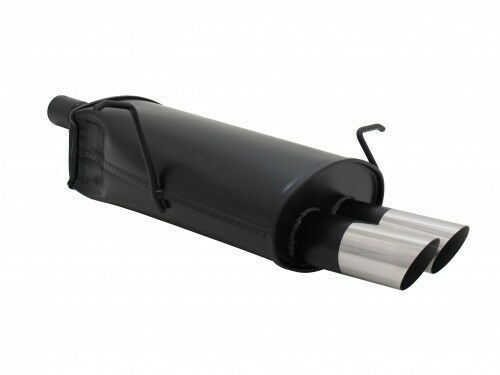 E46 ABE 2x76mm MS-Design Stahl für BMW E46-346L//C NOVUS SPORTAUSPUFF