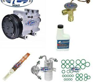 A//C Compressor Kit Fits Ford Bronco F150 F250 F350 1992-1993 OEM FS10 PV6 57120