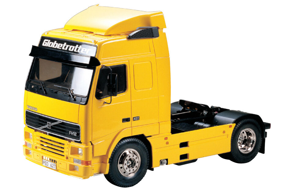 Tamiya 56312 1 14 Rc Tractor Camión Volvo Fh12 Globetrojoter 420 4x2 Kit de montaje
