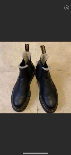 Dr. Martens platform black boots Mens size 14