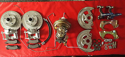 1964 1967 GM A body Chevelle power disc brake conversion front and rear disc