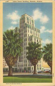 Phoenix-ARIZONA-Luhrs-Tower-Building-ARCHITECTURE-1941