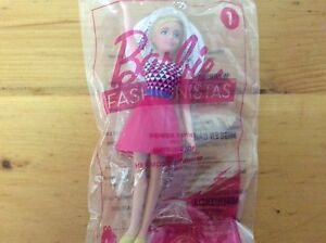 McDonald-039-s-Happy-Meal-Toy-Barbie-Fashionistas-1-Power-Print-Doll